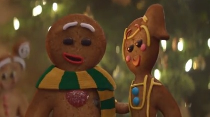 David Jones Christmas Commercial - Gingerbread Man