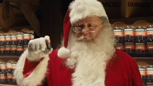 Duracell Santa Commercial