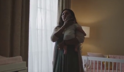 Serena Williams and her Baby Daughter - Gatorade Commercial