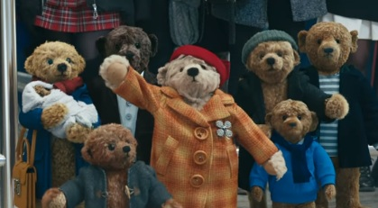 Teddy Bears in Heathrow Airport Christmas Advert