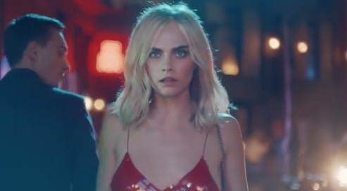 Cara Delevingne in Jimmy Choo Commercial