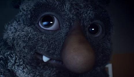 Monster in John Lewis Christmas TV Advert