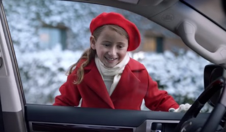 Little Girl in Lexus Commercial