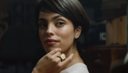 Woman in Pandora Jewellery Commercial