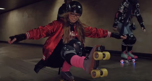 Nokia 8 Commercial - Roller Skating Girls