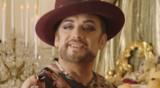 UberEATS Boy George Commercial