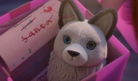 Very Christmas TV Advert - Toy Wolf