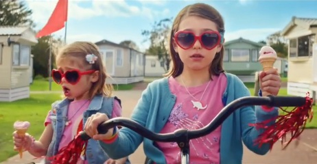 Little Girls on Tricycle - Haven TV Advert