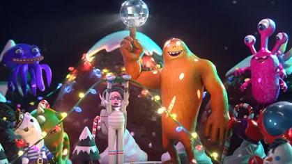 Microsoft 3D Christmas Commercial - Paint 3D and Remix 3D