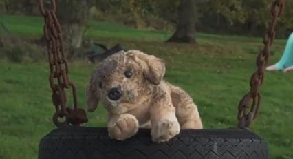 RSPCA Puppy Christmas TV Advert