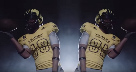 Adidas Commercial Uniforms 2018 Army All American Game