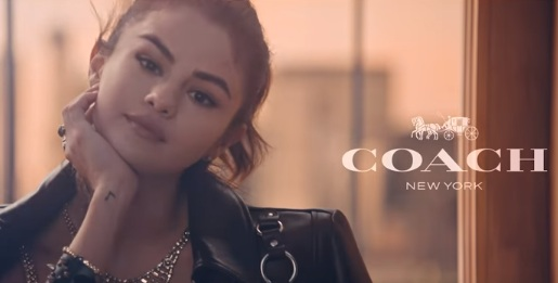 Selena Gomez in Coach Commercial 2018