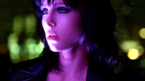 Model Edie Campbell in YSL Black Opium Commercial