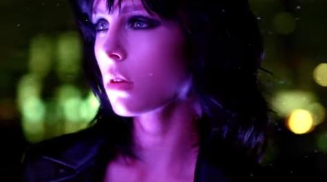 Model Edie Campbell in YSL Black Opium Commercial