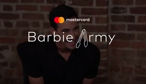 Mastercard Australia Barbie Army Stuart
