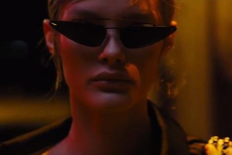 Model in Prada Commercial 2018