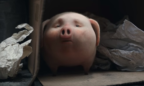 Little Pig Lost - Santander Bank Commercial