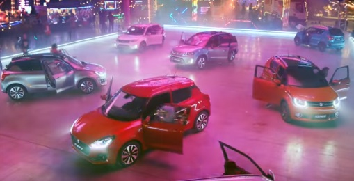 Suzuki Ignis, Vitara and Swift TV Advert