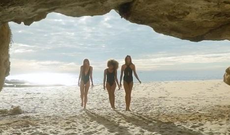 Aerie Swimwear Commercial Girls