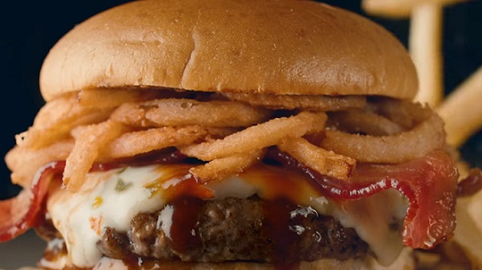 Applebee's Whisky Bacon Burger Commercial