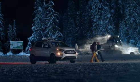 Ford EcoSport Commercial - Ski Trip