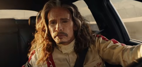Steven Tyler in Kia Super Bowl 2018 Commercial