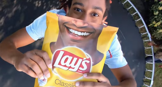 Lay's Smile Bag Commercial