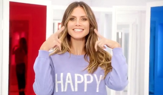Lidl Heidi Klum TV Advert