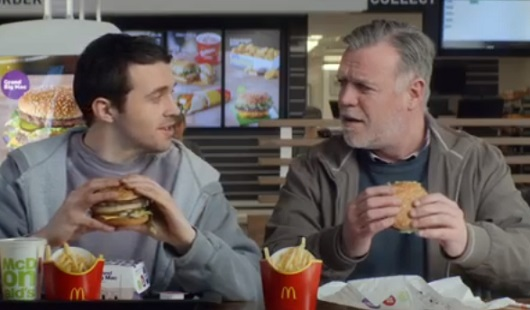 McDonald's TV Advert - Mac Jr. and Grand Big Mac