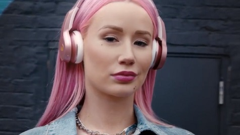 Iggy Azalea in Monster Cable Super Bowl Commercial