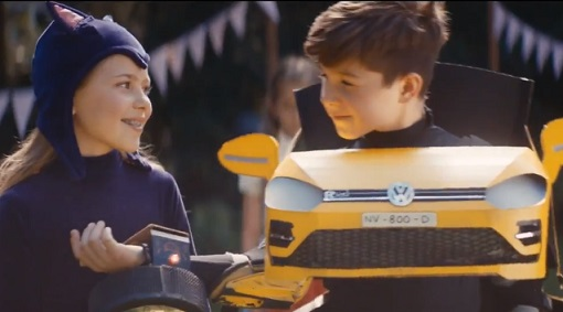 Volkswagen Golf Commercial - Boy in Transformer Costume