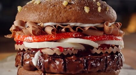 Burger King Chocolate Whopper Commercial