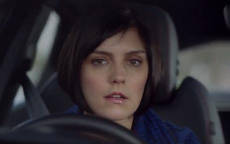 Actress Annabel Scholey - Jaguar E-Pace TV Advert