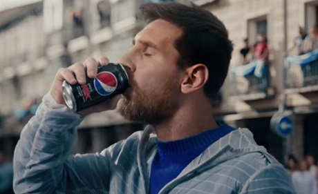 Messi in Pepsi MAX Commercial