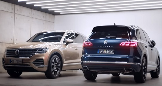 Volkswagen Touareg Commercial