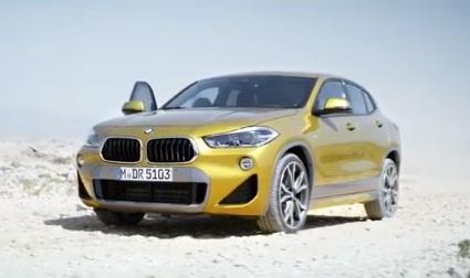 BMW X2 TV Advert
