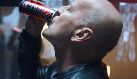 Hell Energy Bruce Willis Commercial