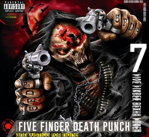Five Finger Death Punch - And Justice for None (The Album)