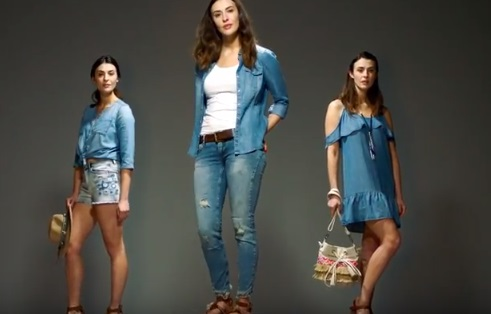 Models in Freemans TV Advert