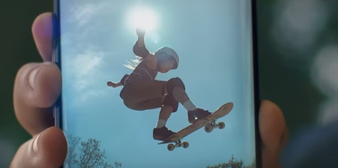 Little Skater - Samsung Galaxy S9 Commercial