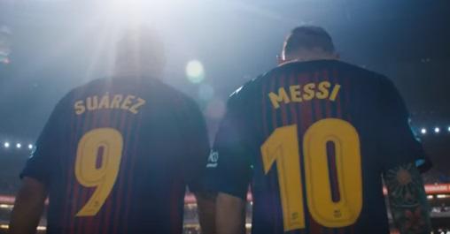 Gatorade Commercial - Lionel Messi & Luis Suárez