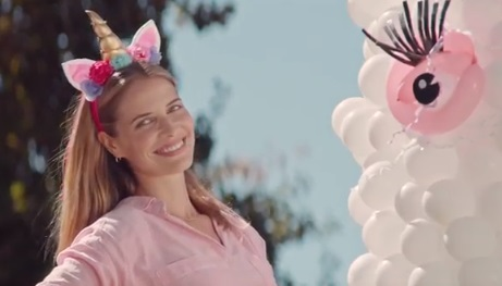 Girl in Party City Balloons Commercial