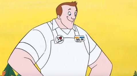 Progressive Insurance Big Jim Commercial