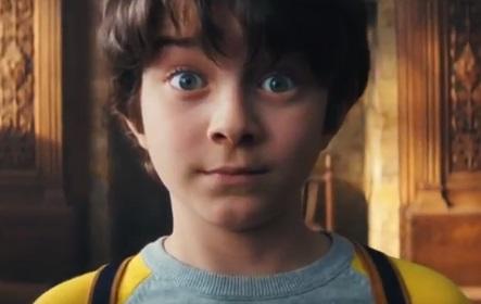 Boy in Robinsons Fruit Shoot Advert