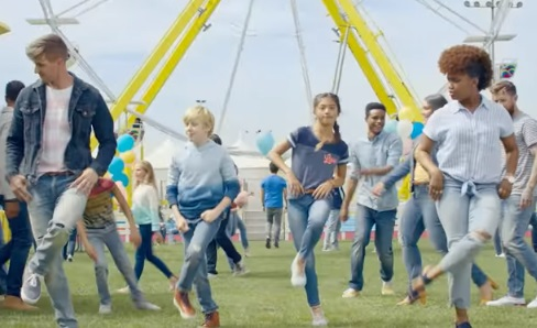 Old Navy People Dancing Commercial