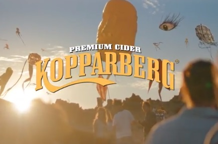 Kopparberg Cider Advert - Flying Kites