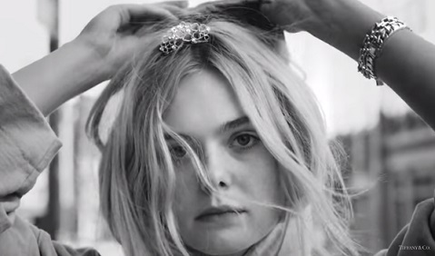 Elle Fanning - Tiffany Paper Flowers Collection Commercial