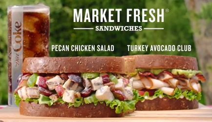 Arby's Market Fresh Sandwiches Commercial