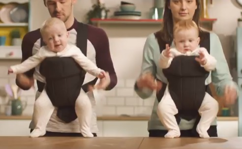 Danone Milupa Cereals TV Advert - Dancing Babies