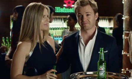 Heineken Nico Rosberg Commercial Song: When You Drive, Never Drink